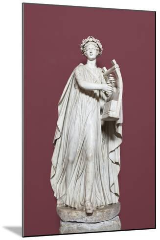Apollo Holding the Lyra, Hall of the Muses, Vatican Museums, Rome, Italy--Mounted Giclee Print