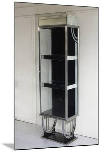 Shop Display Cabinet, 1930-1940, Steel and Glass, United States of America--Mounted Giclee Print