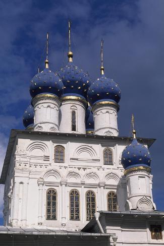 Our Lady of Kazan Church, Kolomenskoye, 1660, Russia--Stretched Canvas Print