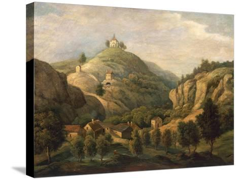 Valley of San Procopio Near Prague About 1830--Stretched Canvas Print