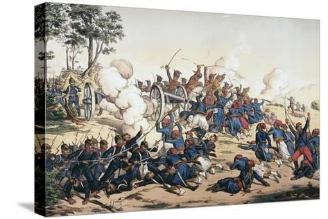 Battle of Wissembourg, Franco-Prussian War--Stretched Canvas Print