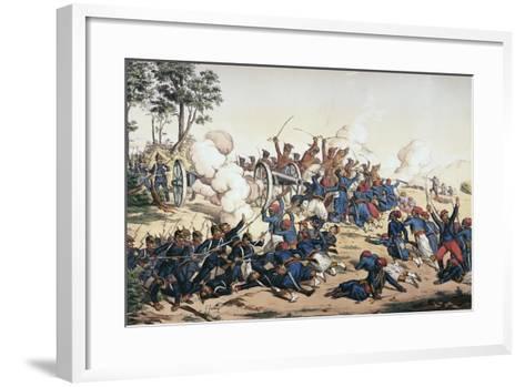 Battle of Wissembourg, Franco-Prussian War--Framed Art Print