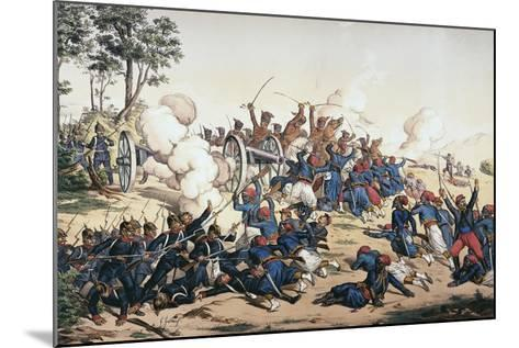 Battle of Wissembourg, Franco-Prussian War--Mounted Giclee Print
