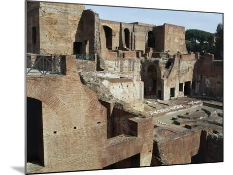 Flavian Palace, also known as Domus Flavia on Palatine Hill, Rome, Lazio, Italy Ad--Mounted Giclee Print