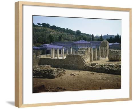 Baths of Villa Romana Del Casale, Piazza Armerina, Sicily, Italy--Framed Art Print