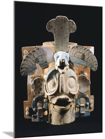 Terracotta Incense Burner, Used by Mayans to Burn the Copale to their Gods--Mounted Giclee Print