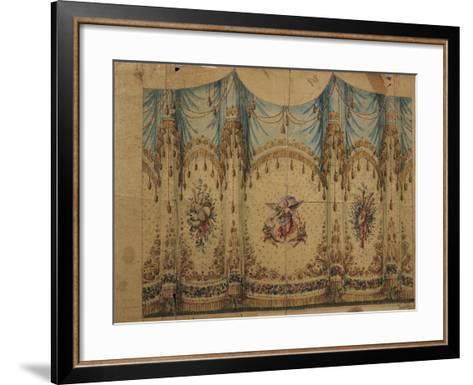 Italy, Venice, Curtain Decoration Design--Framed Art Print