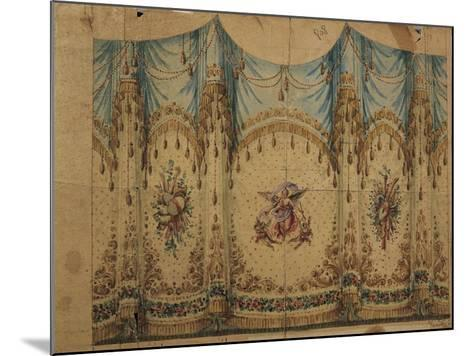 Italy, Venice, Curtain Decoration Design--Mounted Giclee Print
