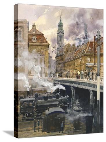 The Hauptstrasse in Vienna, Austria 20th Century--Stretched Canvas Print