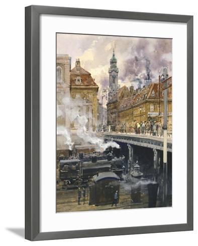The Hauptstrasse in Vienna, Austria 20th Century--Framed Art Print