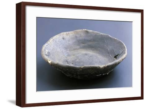 Small Dish, Lagozza Civilization--Framed Art Print