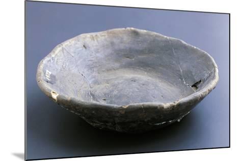 Small Dish, Lagozza Civilization--Mounted Giclee Print
