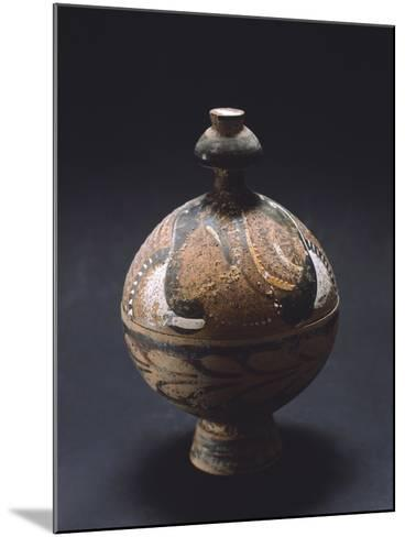 Pyx, Canosa Red Figure Pottery from Portagioie, Apulia, Italy--Mounted Giclee Print