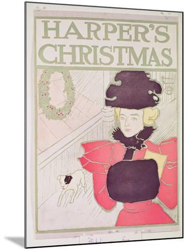 Cover for Harper's Magazine, Christmas Issue--Mounted Giclee Print