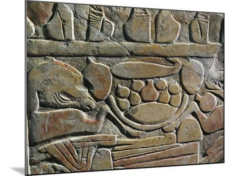 Relief Depicting Food Offerings for the Deities, from Abydos--Mounted Giclee Print