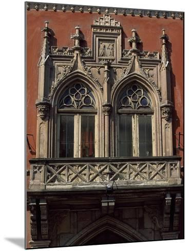 Slovakia, Kosice, Namestie Slobody, Building Architectural Detail--Mounted Giclee Print