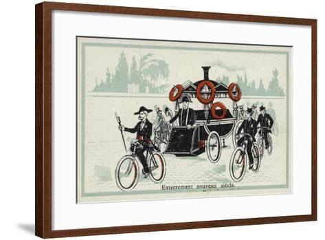 New Century - Funeral--Framed Art Print