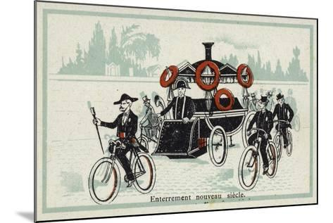 New Century - Funeral--Mounted Giclee Print