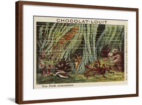 An Underwater Forest in the Year 2000--Framed Art Print