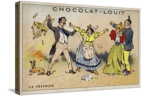 La Desunion--Stretched Canvas Print