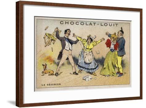 La Desunion--Framed Art Print