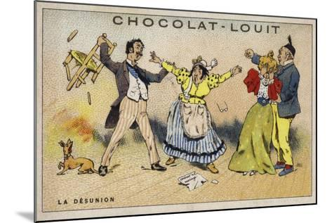 La Desunion--Mounted Giclee Print