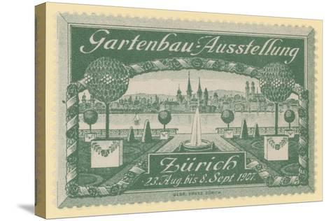 Horticultural Exhibition, Zurich, 1907--Stretched Canvas Print