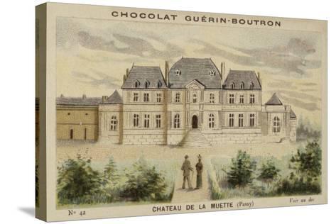 Chateau De La Muette, Passy--Stretched Canvas Print