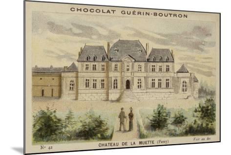 Chateau De La Muette, Passy--Mounted Giclee Print