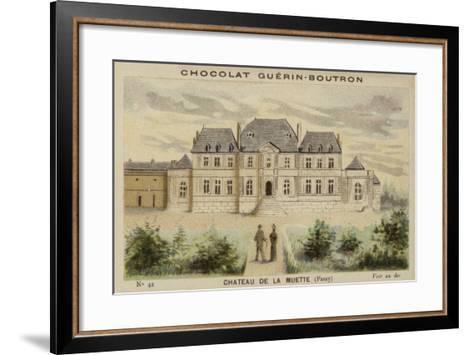 Chateau De La Muette, Passy--Framed Art Print