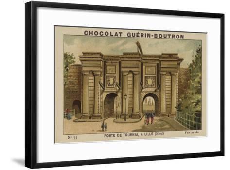 Porte De Tournai, a Lille, Nord--Framed Art Print