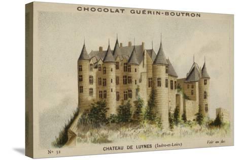 Chateau De Luynes, Indre-Et-Loire--Stretched Canvas Print