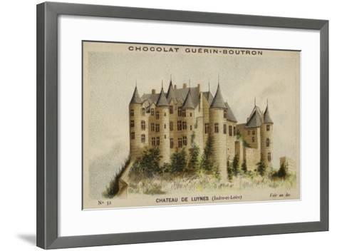 Chateau De Luynes, Indre-Et-Loire--Framed Art Print