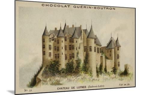 Chateau De Luynes, Indre-Et-Loire--Mounted Giclee Print