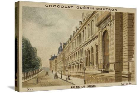 Palais Du Louvre--Stretched Canvas Print