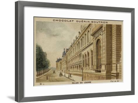 Palais Du Louvre--Framed Art Print