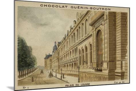 Palais Du Louvre--Mounted Giclee Print