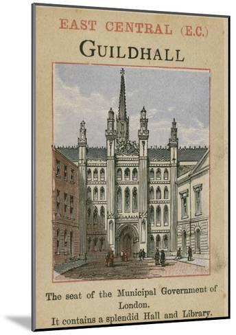 Guildhall--Mounted Giclee Print