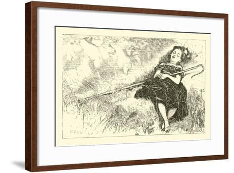 Little Bo-Peep--Framed Art Print