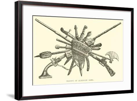 Trophy of Albanian Arms--Framed Art Print