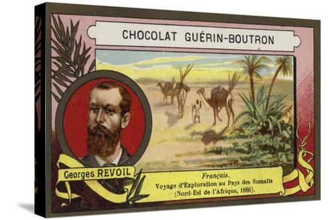 Georges Revoil, French Explorer--Stretched Canvas Print