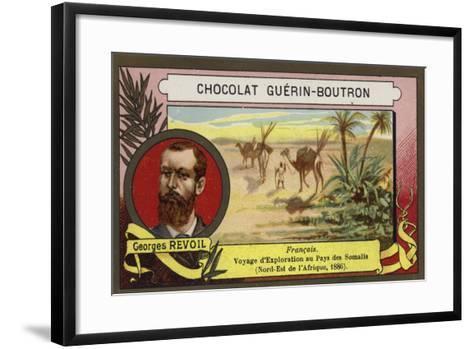Georges Revoil, French Explorer--Framed Art Print