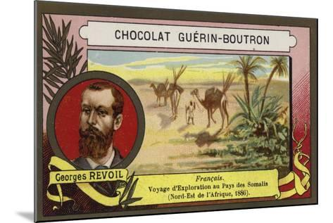 Georges Revoil, French Explorer--Mounted Giclee Print