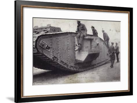 The Super Tank--Framed Art Print