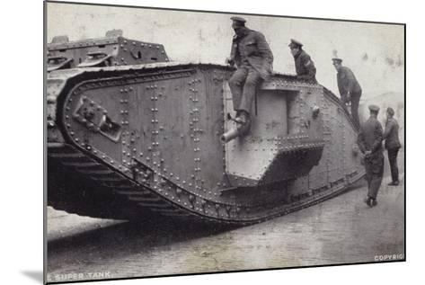 The Super Tank--Mounted Photographic Print