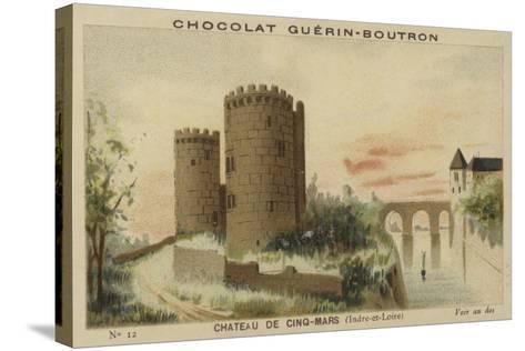Chateau De Cinq-Mars, Indre-Et-Loire--Stretched Canvas Print