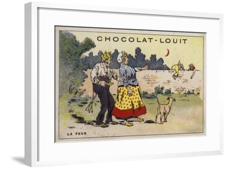 La Peur--Framed Art Print