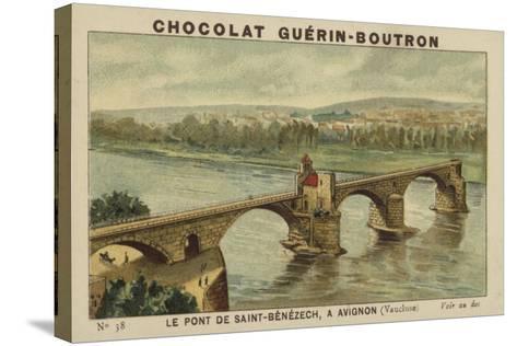 Le Pont De Saint-Benezech, a Avignon, Vaucluse--Stretched Canvas Print