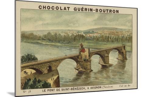 Le Pont De Saint-Benezech, a Avignon, Vaucluse--Mounted Giclee Print