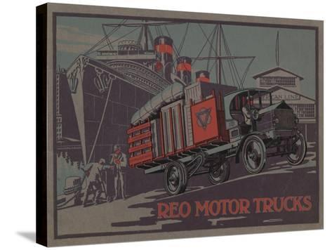 Advertisement for Reo Motor Trucks, C.1910--Stretched Canvas Print